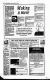 Ealing Leader Friday 08 December 1989 Page 34