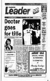 Harrow Leader Friday 29 December 1989 Page 1