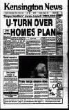 Kensington Post Thursday 17 January 1991 Page 1
