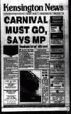 Kensington Post Thursday 07 November 1991 Page 1