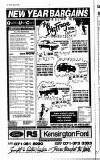 Kensington Post Thursday 02 January 1992 Page 20