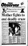 Pinner Observer Thursday 28 December 1989 Page 1