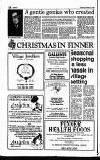 Pinner Observer Thursday 22 November 1990 Page 18