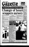 Harefield Gazette Wednesday 11 January 1995 Page 1