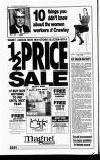 Crawley News Wednesday 20 November 1991 Page 22