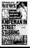 Crawley News Wednesday 04 December 1991 Page 1