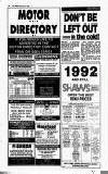 Crawley News Wednesday 08 January 1992 Page 38
