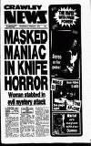 Crawley News Wednesday 05 February 1992 Page 1