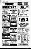 Crawley News Wednesday 04 March 1992 Page 36