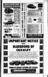 Crawley News Wednesday 20 May 1992 Page 41