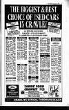 Crawley News Wednesday 02 September 1992 Page 41