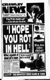Crawley News Wednesday 14 October 1992 Page 1