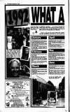 Crawley News Wednesday 30 December 1992 Page 12