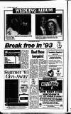 Crawley News Wednesday 06 January 1993 Page 22