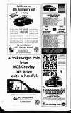 Crawley News Wednesday 04 August 1993 Page 74