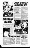 Crawley News Wednesday 04 August 1993 Page 82