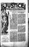 Justice Saturday 24 June 1893 Page 1