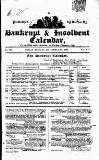 Bankrupt & Insolvent Calendar