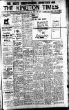 Kington Times Saturday 12 February 1916 Page 1