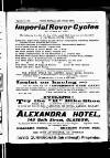 ULSTER FOOTBALL AND CYCLING NEWS. Imperial Rover Cycles