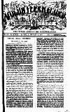 Volunteer Record & Shooting News Saturday 27 January 1900 Page 1