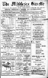 Middlesex Gazette Saturday 26 September 1908 Page 1