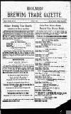 Holmes' Brewing Trade Gazette Thursday 01 July 1880 Page 3