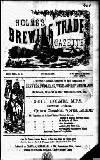 Holmes' Brewing Trade Gazette Monday 01 November 1880 Page 1