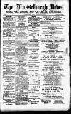 Musselburgh News Friday 15 February 1889 Page 1