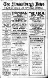 THE REGAL SUPER CINEMA DALRYMPLE LOAN] [MUSSELBURGH FREE CAR PARK Week Commencing - MONDAY, 27th June 1938 Monday, Tuesday, Wednesday-