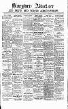 Blairgowrie Advertiser Saturday 21 March 1885 Page 1