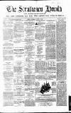 Strathearn Herald Saturday 15 August 1863 Page 1