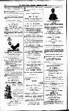 Forres News and Advertiser Saturday 22 December 1906 Page 4