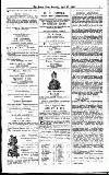 Forres News and Advertiser Saturday 27 April 1907 Page 3