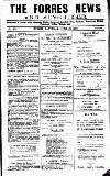 Forres News and Advertiser Saturday 10 June 1916 Page 1