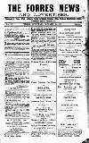 Forres News and Advertiser Saturday 20 January 1917 Page 1