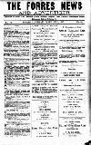 Forres News and Advertiser Saturday 03 February 1917 Page 1