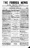 Forres News and Advertiser Saturday 17 March 1917 Page 1