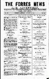 Forres News and Advertiser Saturday 04 August 1917 Page 1