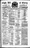 Clyde Bill of Entry and Shipping List Tuesday 30 January 1883 Page 1