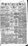 Western Evening Herald Wednesday 15 May 1895 Page 1