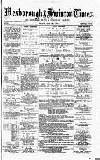 South Yorkshire Times and Mexborough & Swinton Times Friday 19 July 1878 Page 1