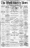 Blyth News Saturday 01 July 1893 Page 1