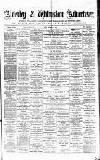 Alderley & Wilmslow Advertiser Friday 20 November 1874 Page 1