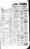 Alderley & Wilmslow Advertiser Friday 01 January 1875 Page 1