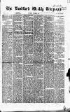 Bradford Weekly Telegraph Saturday 09 October 1869 Page 1