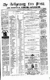 Ballymoney Free Press and Northern Counties Advertiser Thursday 18 November 1875 Page 1