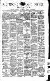 Richmond & Ripon Chronicle Saturday 01 January 1876 Page 1