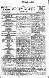 Westminster Gazette Monday 01 November 1897 Page 1