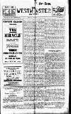 Westminster Gazette Friday 03 January 1913 Page 1